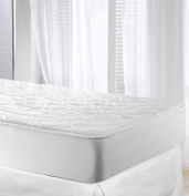 Velfont Cotton Waterproof Quilted Mattress Protector, King Size