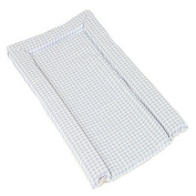 Kit For Kids Standard Changing Mat, Blue Gingham