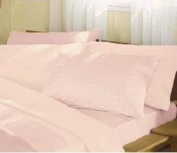 Percale Pink Housewife Pillowcase Pair