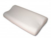 Memory Foam Contour Pillow, With Poly Cotton Pillowcase