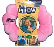 Pink Total Twist Travel Pillow