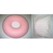 Dunlopillo Surgical Ring Cushion (Donut Cushion / Pillow) + Cushion Cover