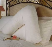 V Pillow V Shaped White Pillowcase