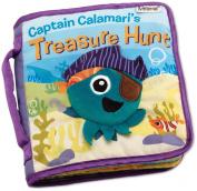 Captain Calamari's Treasure Hunt Discovery Cloth Book - Lamaze