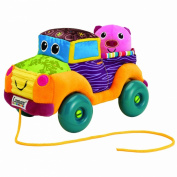 Learning Curve Farm Truck Pull Toy