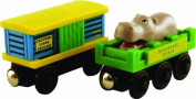 Wooden Thomas And Friends Zoo Carriages