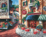 """Paint By Number Kit 50cm X16""""-Taste Of Italy"""