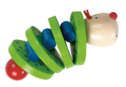 Haba Flapsi Wooden Rattle Clutching Toy