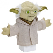 Joy Toy Star Wars 22cm Yoda Hand Puppet on Backercard