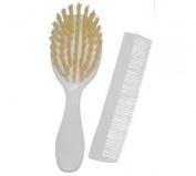 dBb Remond 315005 Plastic Comb and Brush White