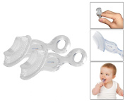 Mammoth XT Soft Chewable Baby Toothbrush & Teether - Pack of 2