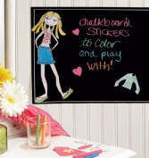 Wallies Peel & Stick Wall Play Ruby Dress Up Chalkboard