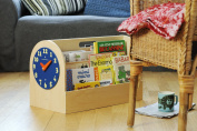 Tidy Books the Original Kid's Book Box- Front Facing Book Display- Natural Wood- 34 x 54 x 28 cm