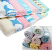 Pack of 8 Soft Baby Cloth Washing Bath Shower Wipe Towel