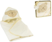 Button Corner Hooded Towel with Teddy 70 cm x 70 cm