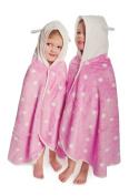 Cuddledry Cuddlebug Toddler Towel with Polka Dot