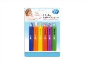 Fun Play Baby Bath Push Up Crayons 6/Set