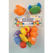 NEW 10 CUTE COLOURFUL FLOATING BATH ANIMALS TOYS inc DUCK DOLPHIN SEAL FROG STAR