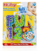 Nuby Bath Tub Foam Alphabet