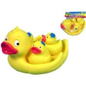 Cute Little Rubber Duck Family Bathtime Set