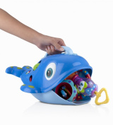 Nuby Bath Toy Whale Sea Scooper, New,  .