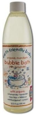 Earth Friendly Baby 370ml Organic Mandarin Bubblebath