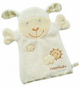 Fehn Baby Love Sheep Flannel Mitt