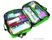REL344 Relisport Stadium First Aid Kit in Paris bag. An ideal sports 'run-on' kit, it is fully loaded with 88 pieces of