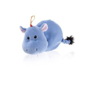 Fashy Hippo Heat Pack with Rapeseed Filling Blue