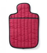 Hotties Quilted Microwavable Hot Water Bottle - Burgundy