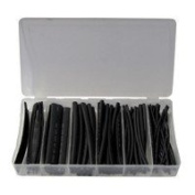 Heat Shrink Tubing Set black 100pc
