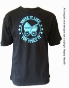Drive it Like You Stole it - Funky Gift for Dad, Black, M
