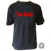 The Daddy T-shirt - Gift for Dad, Black, XL