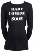 Spoilt Rotten - Baby Coming Soon - 100% Organic Cotton Women's Maternity Top
