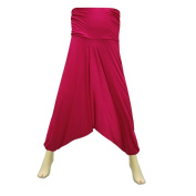 Cotton Casual Wear Hosiery Afghani Pant with Elastic Waist