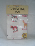 Cute animal design travel changing mat - One Size