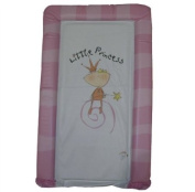 1Stopbabystore Genuine Pink Princess Deluxe Baby Changing Mat - Soft Touch