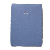 Baby Boum Cotton Rich Jersey Fitted Changing Mat Cover with Retro Sporty Design