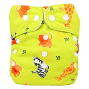 Reusable Washable Pocket Nappy One Size with Microfibre Insert