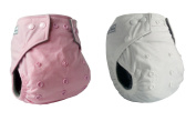 Bamboo Carbon Fibre All-In-One One-Size Real Nappies