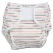 Popolini Popoowrap Size Small Stripy nappy wrap