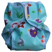 Rikki Wrap Nappy Cover Medium Ocean