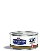 Hills Prescription Diet Z/D Cat Minced ULTRA Allergen Free 24x156g can