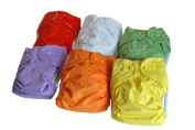 """Three Little Imps """"Premium Range"""" Cloth Nappies (including 2 inserts per nappy) - Set of 12"""