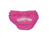 Bright Bots Baby Girls Pink Re-usable Washable Swim Nappy size 0-3 months - UPF50+ Sun Protection