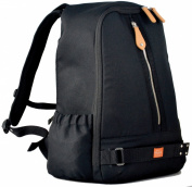 PacaPod Picos Pack Black Designer Baby Changing Bag - Unisex Luxury Black Backpack 3 in 1 Organising System