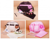 Baby Kingdom 4pcs Nappy Changing Bag Cream