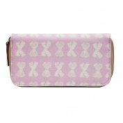 Pink Lining Yummy Mummy Wallet - Cream Bows