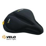 Velo 137657 Anatomic Gel Saddle Cover - Black