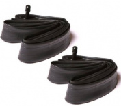 2x Sunchase 700x35/43c Bicycle Inner Tubes with Schrader Valve